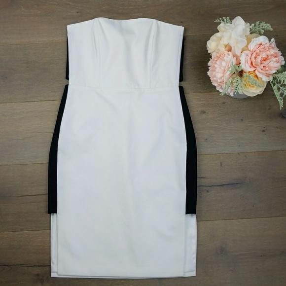 dd50b170fe5fd Mason by Michelle Mason white strapless dress. M_5ad3cc3ba6e3ea0369238acf